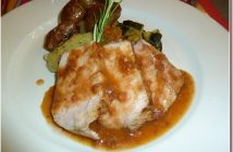 Restaurant le Four Castelnaudary porc a la sauce catalane