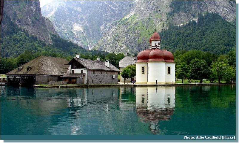 Sankt Bartholoma Lac Koenigssee