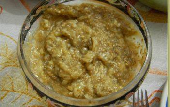 caviar d'aubergine serbe