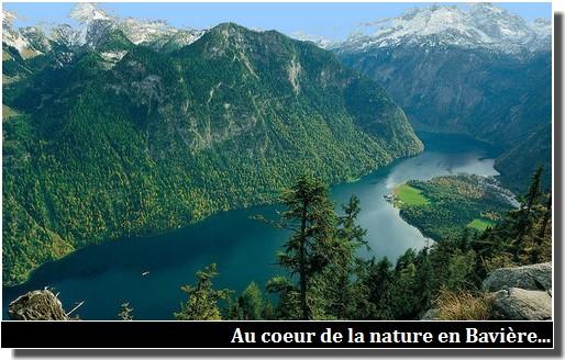 nature en baviere