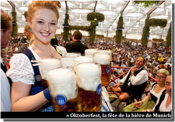 fête de la bière munich onktoberfest