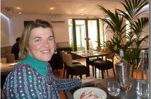 sandrine repas restaurant Le four Castelnaudary