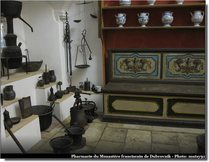 Dubrovnik pharmacie monastere franciscain