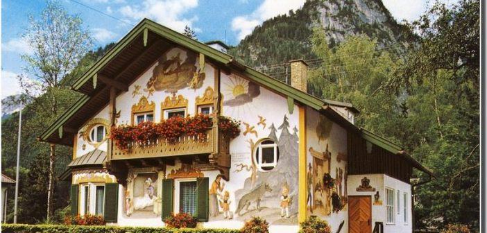 Oberammergau maison du petit chaperon rouge