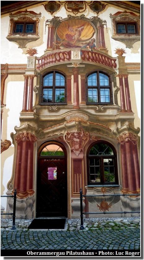 Oberammergau, un beau village typique aux façades peintes en Bavière 7