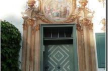 Oberammergau peintures murales porte