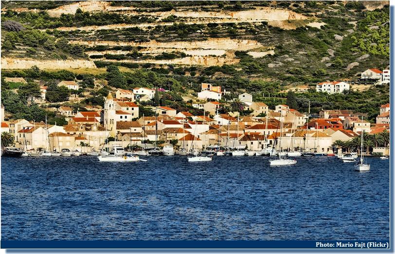 Ville de Vis Croatie