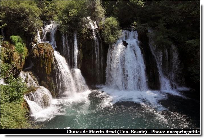 chutes Martin Brod Una Bosnie Herzegovine