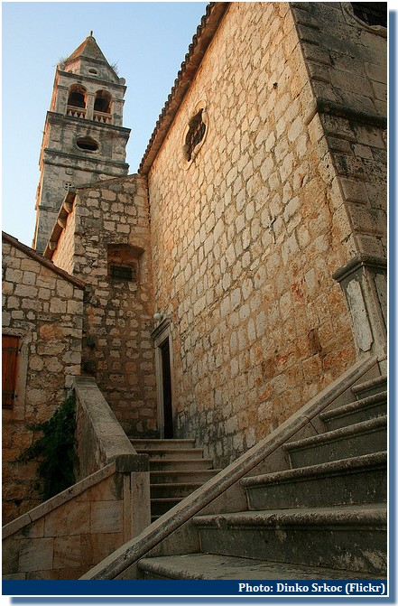 eglise de Vis croatie