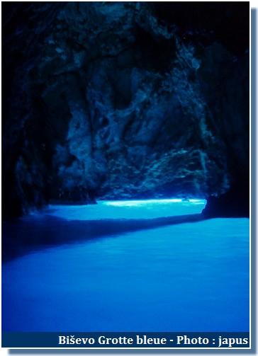 grotte bleue bisevo