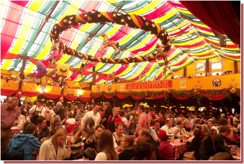 hippodrom fête de la bière Munich Oktoberfest