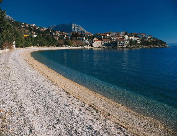 Studio à Podaca dès 35€ (Dalmatie, riviera de Makarska) : une location calme même en été 2