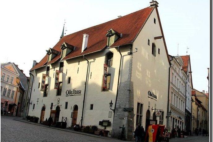 restaurant olde hansa tallinn estonie