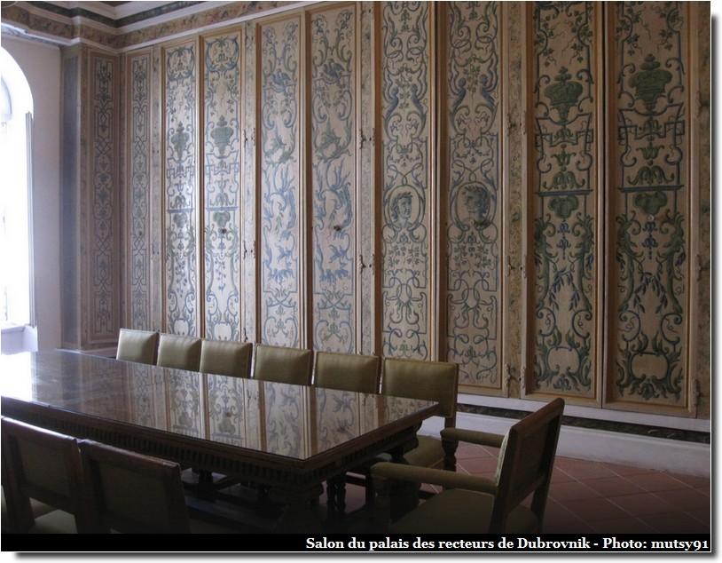 salon palais des recteurs dubrovnik