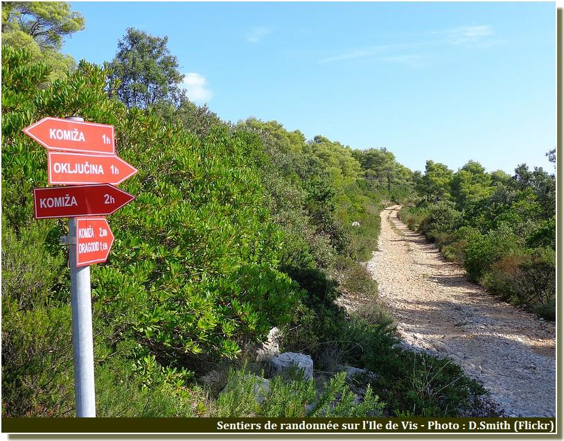 vis sentiers de randonnée