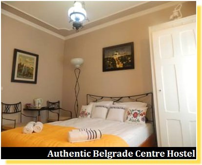 Authentic belgrade centre hostel