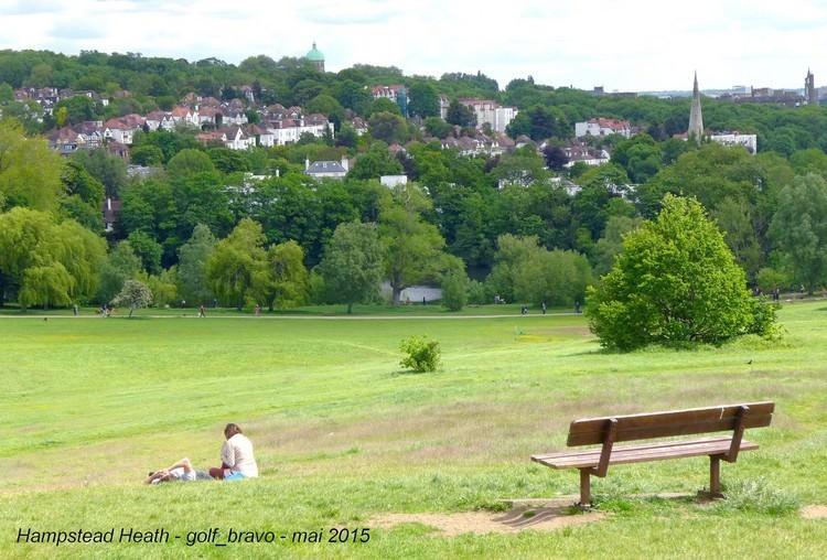 Londres Hampstead heath park