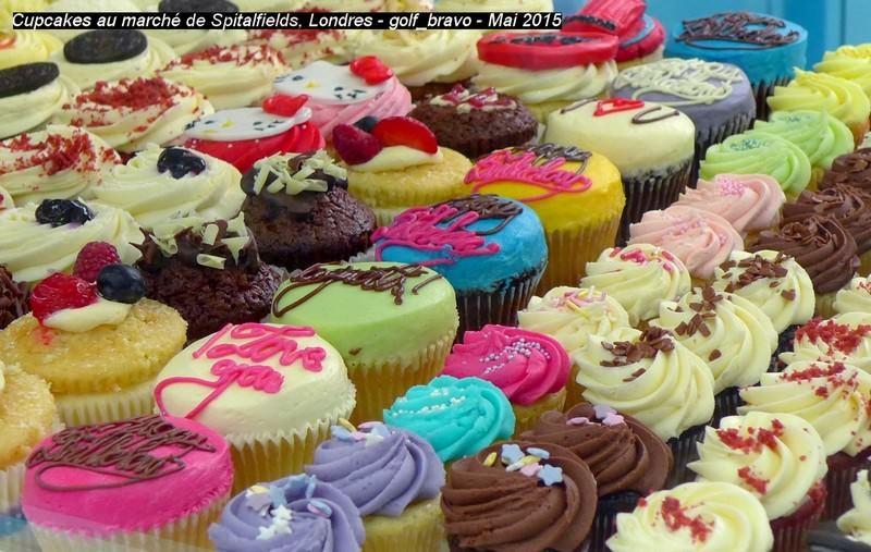 Londres cupcakes market spitalfields