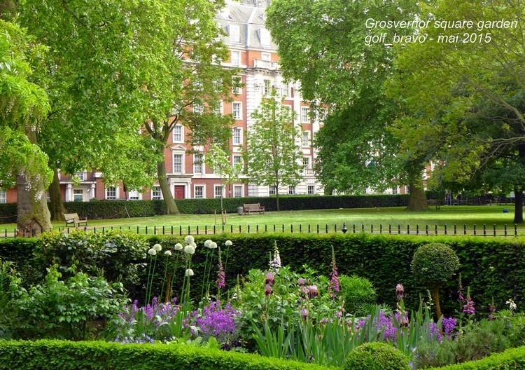 Londres grosvernor Square Gdn