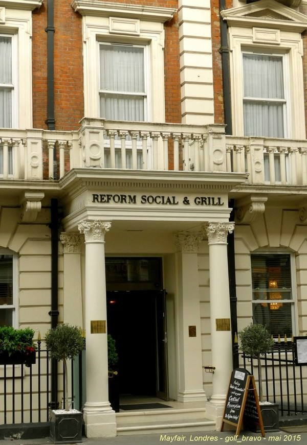 Londres reform social and grill