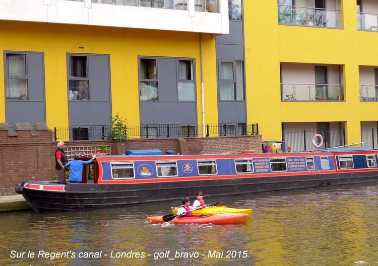 Londres regents canal kayaks