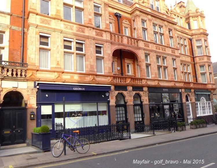 Londres velo Mayfair