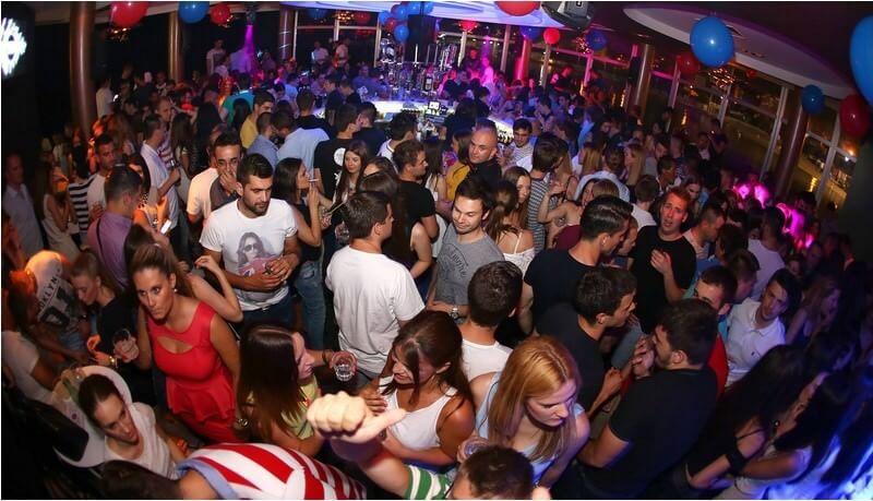 Mystic Party Tropic Club Split en Dalmatie