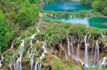 Plitvice chutes et cascades Via Dinarica