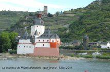 château de Pfalzgrafenstein sentier du Rhin