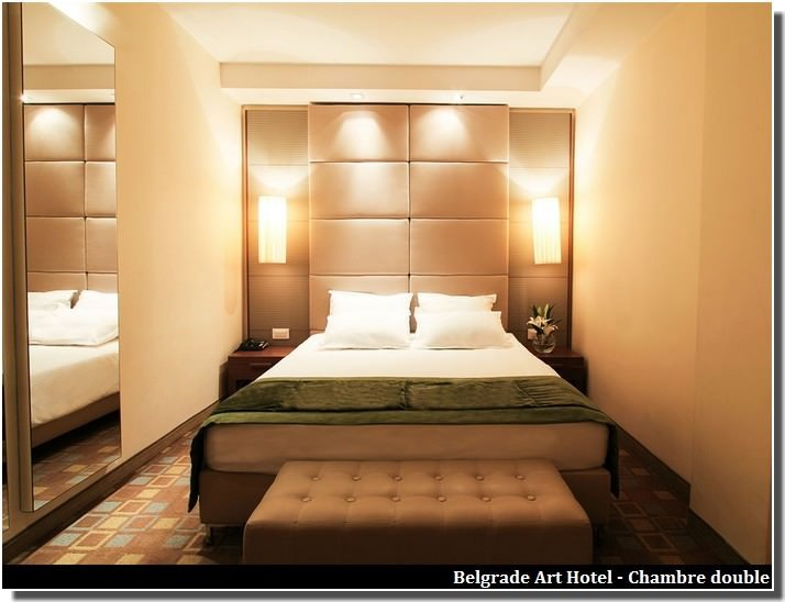 belgrade art hotel chambre double