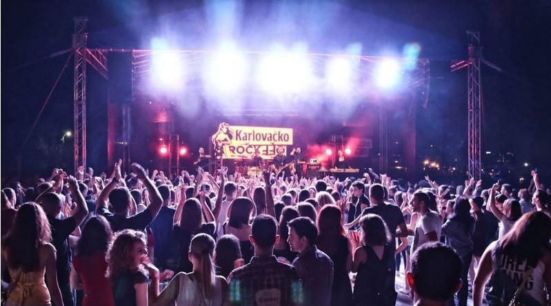 karlovacko rock festival ohara klub split