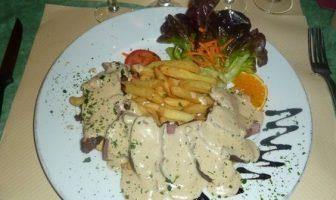 restaurant au petit gazouillis castelnaudary magret aux cepes