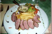 restaurant le petit Gazouillis magret de canard
