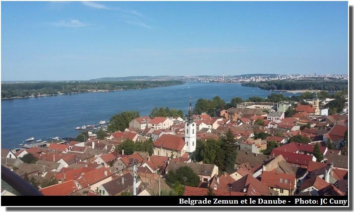 Belgrade Zemun Danube