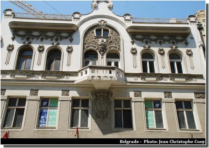 Belgrade facade