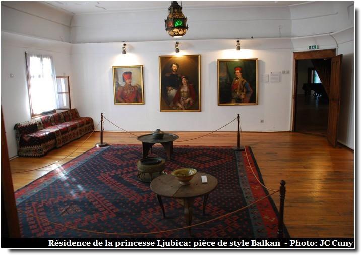 Belgrade résidence de la princesse Ljubica musée
