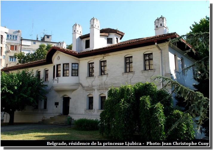 Belgrade résidence de la princesse Ljubica