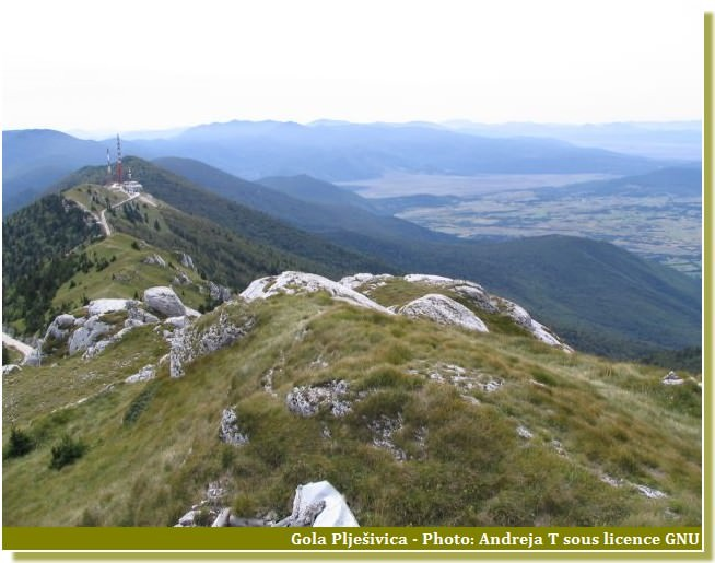 Licka Pljesivica Alpes dinariques
