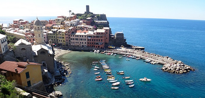 Visiter Cinque Terre en train et en randonnée ; une terre qui se mérite en Ligurie…