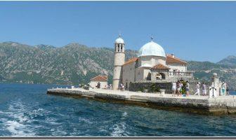 Bouches de Kotor : Ile de la Vierge des rochers