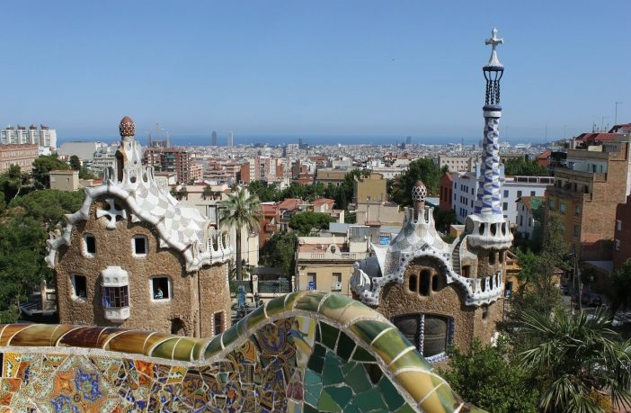 parc guell barcelone