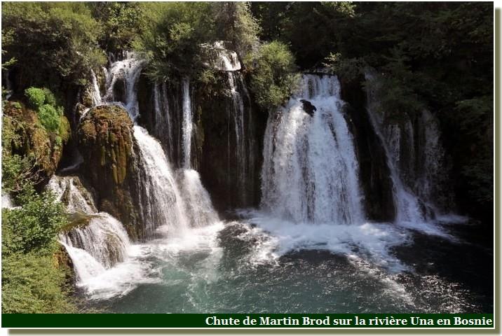 Chutes Martin Brod sur la rivière Una