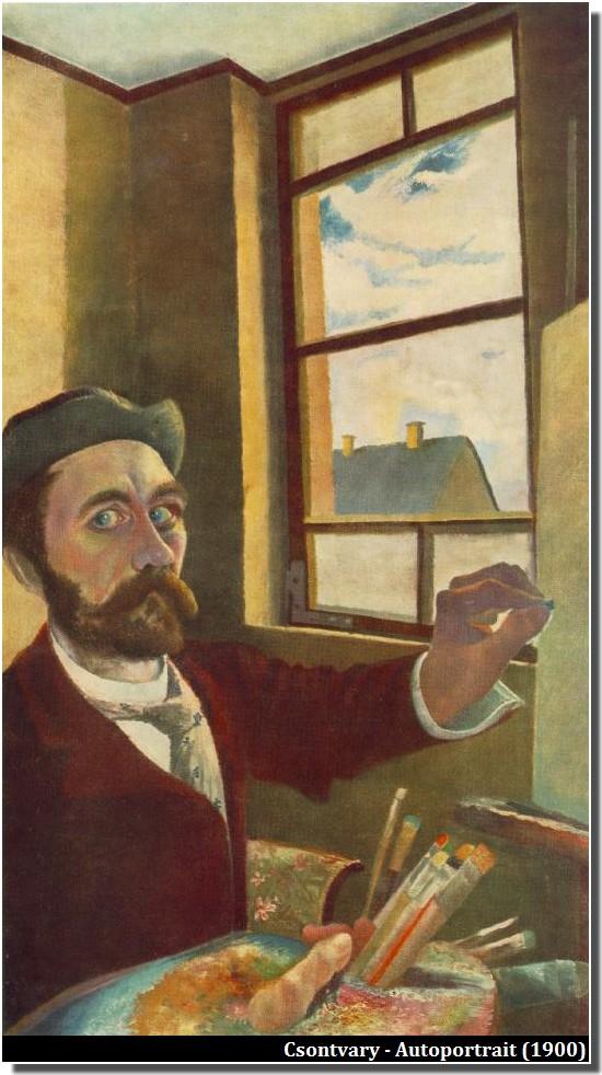 Csontvary Autoportrait (vers 1900)