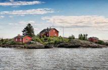 Ile finlande en été