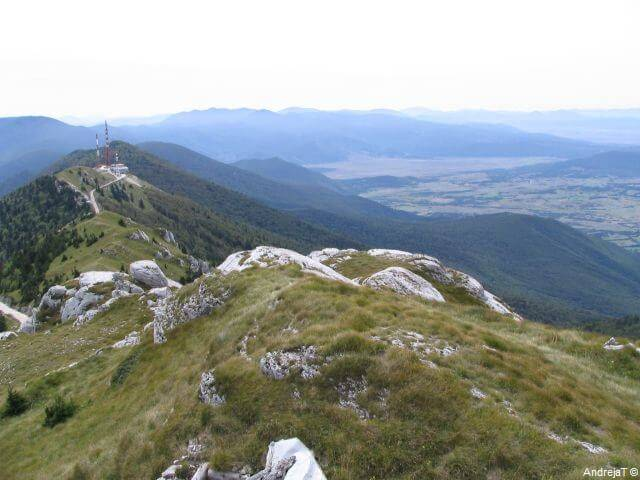 Licka Pljesivica en Bosnie Herzégovine vue depuis Gola Pljesivica