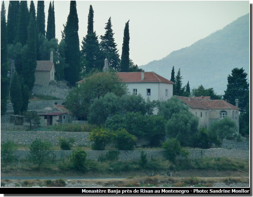 Monastère Banja au Montenegro