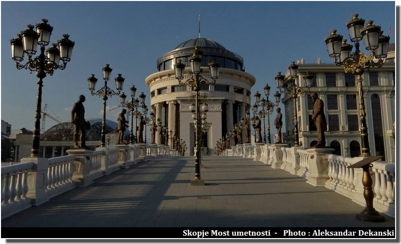 Visiter Skopje ; capitale multiethnique aux facettes plurielles en Macédoine (Fyrom) 5