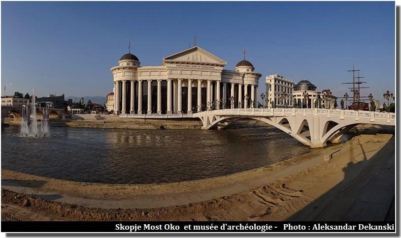 Visiter Skopje ; capitale multiethnique aux facettes plurielles en Macédoine (Fyrom) 1