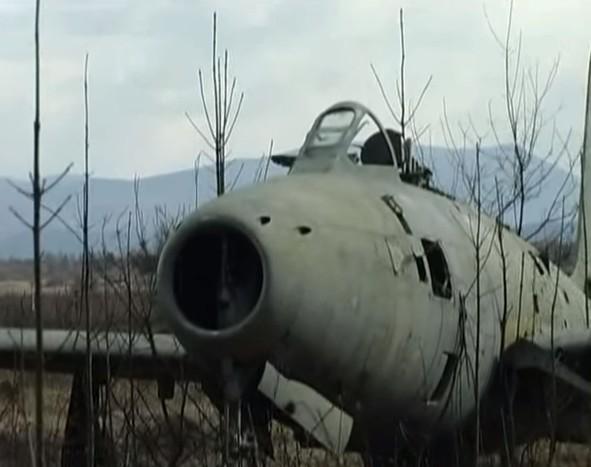 Zeljava avion détruit