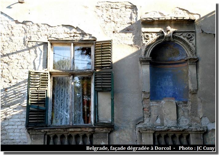 belgrade vieille ville dégradée